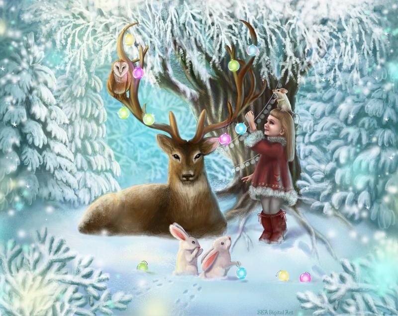 Winter tale by Sea-net