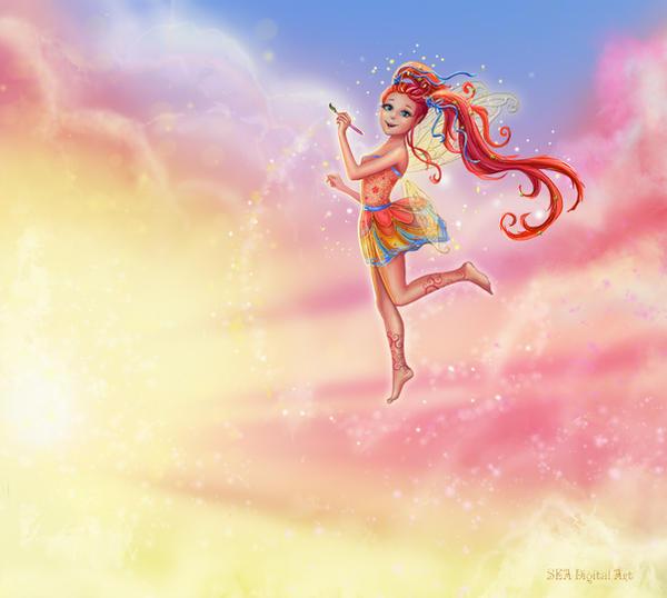 fairy of sunrise by Sea-net