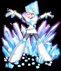 Mega Woman Collab  - Jewel Woman