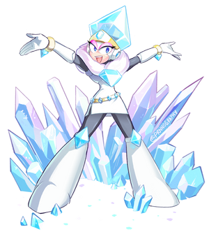 Mega Woman Collab  - Jewel Woman