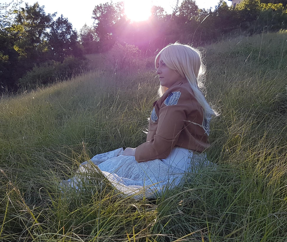 A sad sunset - A bride without a lover. by ChemicalLadyCosplay