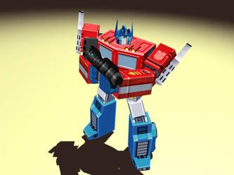 Optimus Prime by NickRLee
