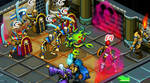 Isometric sprites and backgrounds...