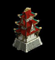 oriental temple by NickRLee