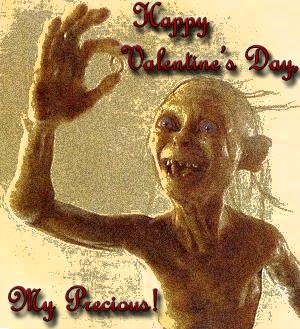 My LOTR Valentine's Day Card! by XxKewonaWolfxX