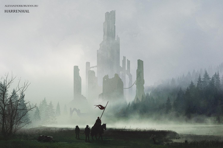 Harrenhal by Lensar