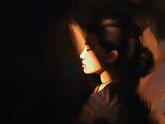 Portrait practice by Lensar