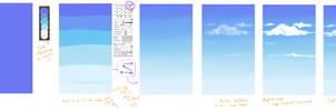 Tutorial Chafa I - Nubes al estilo Cobasho (?)