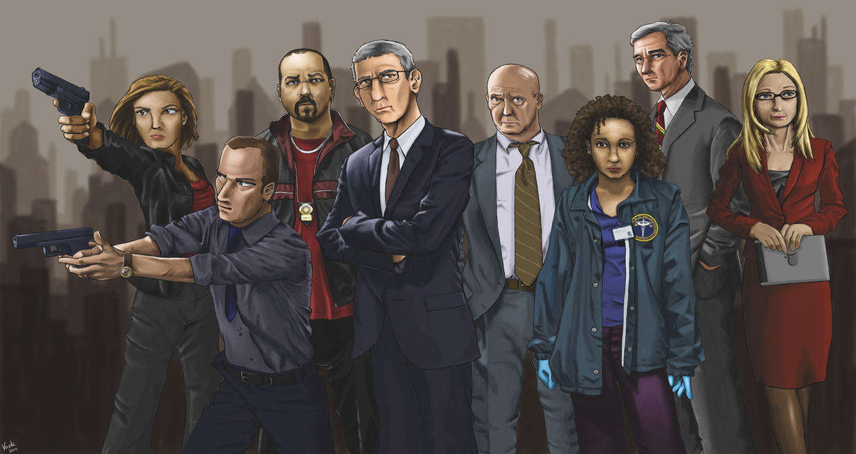 Law and Order: The Animation by ayarane
