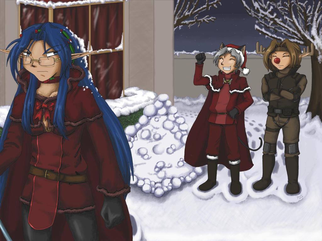 Snowscheme 2015 Part 2: Putting Snow On Your Head by ayarane