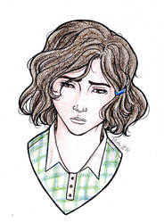 Sketchy Portrait Trade: Anneli