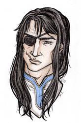 Sketchy Portrait Trade: Seth
