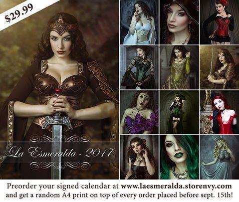 2017 Calendar by La-Esmeralda-Stock