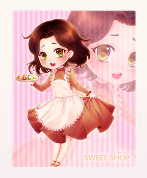 Chibi Commission: Sweet Shop