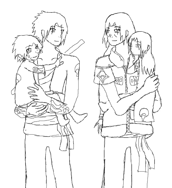 Sasuke and Itachi Parents UN. by naruta-sasukes-girl