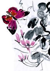 Japan style batterfly by CriAnn