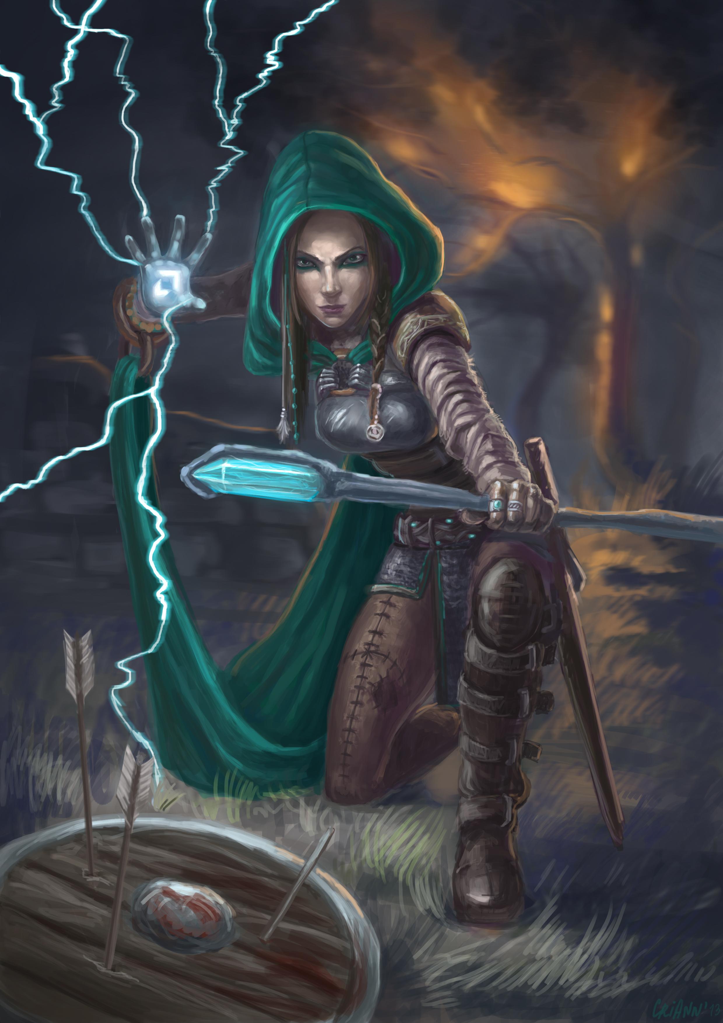 Battle mage by CriAnn