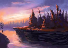 Landscape practice1 by CriAnn