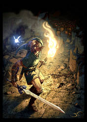 Link's trap by Bisart