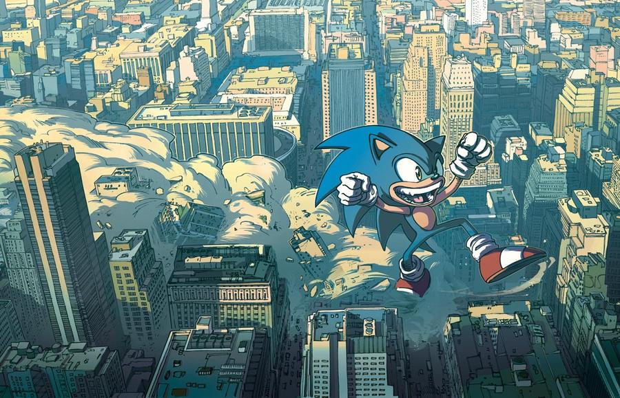 Kaiju Sonic by isart