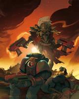 Warhammer by Bisart