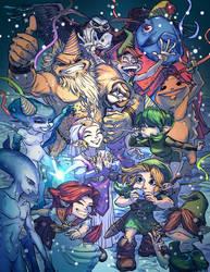 Zelda OOT by Bisart
