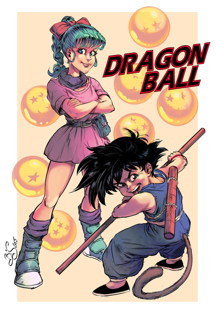 Dragon Ball 30th Anniversary by Bisart