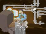 VS Steampunk programmer by bananamon