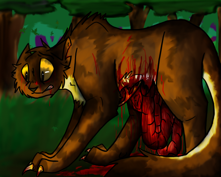 Scourge With Knife Warrior Cats