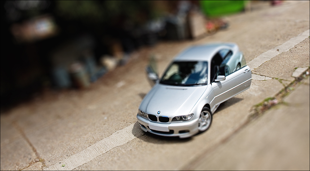 Miniature BMW of my very own by mrk