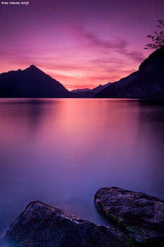 Lake Thun Sunset I