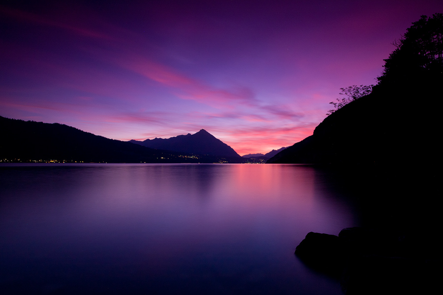 Lake Thun Sunset II by erezmarom