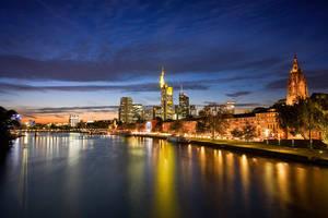 Blue Time Skyline by erezmarom