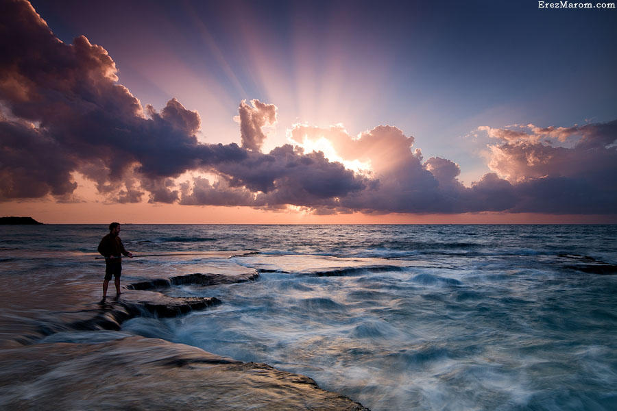 A Fisherman's Evening by erezmarom