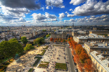 A Painting of Paris by erezmarom