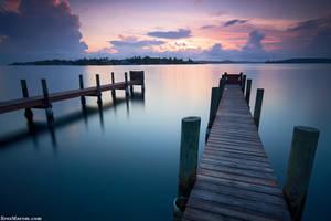 Sunrise over Bocas Town