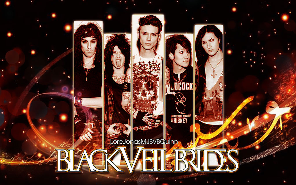 Wallpaper Black Veil Brides By Lorejonasmjbvbquinn On Deviantart