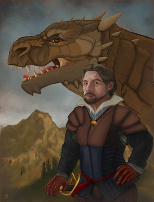The Dragon Rider by Morianrhod