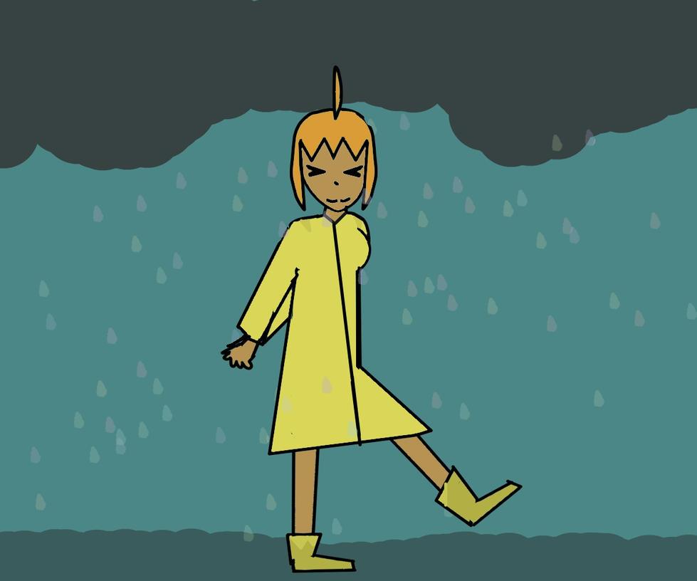 Rain Girl by jazmynisawesome