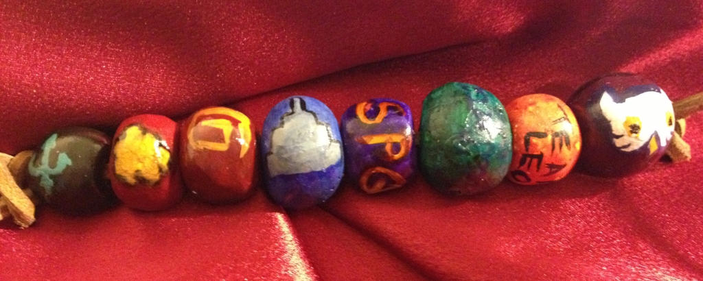 Percy Jackson Full Bead Set by ramenrulz8P