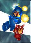 Mega Man to the Rush