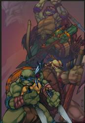 Teenage Mutant Native Turtles by mulcimber