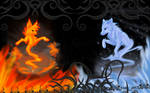 Fire and Ice :: Wallpaper