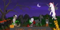 HALLOWEEN ANIMATION DONE by twistedCaliber