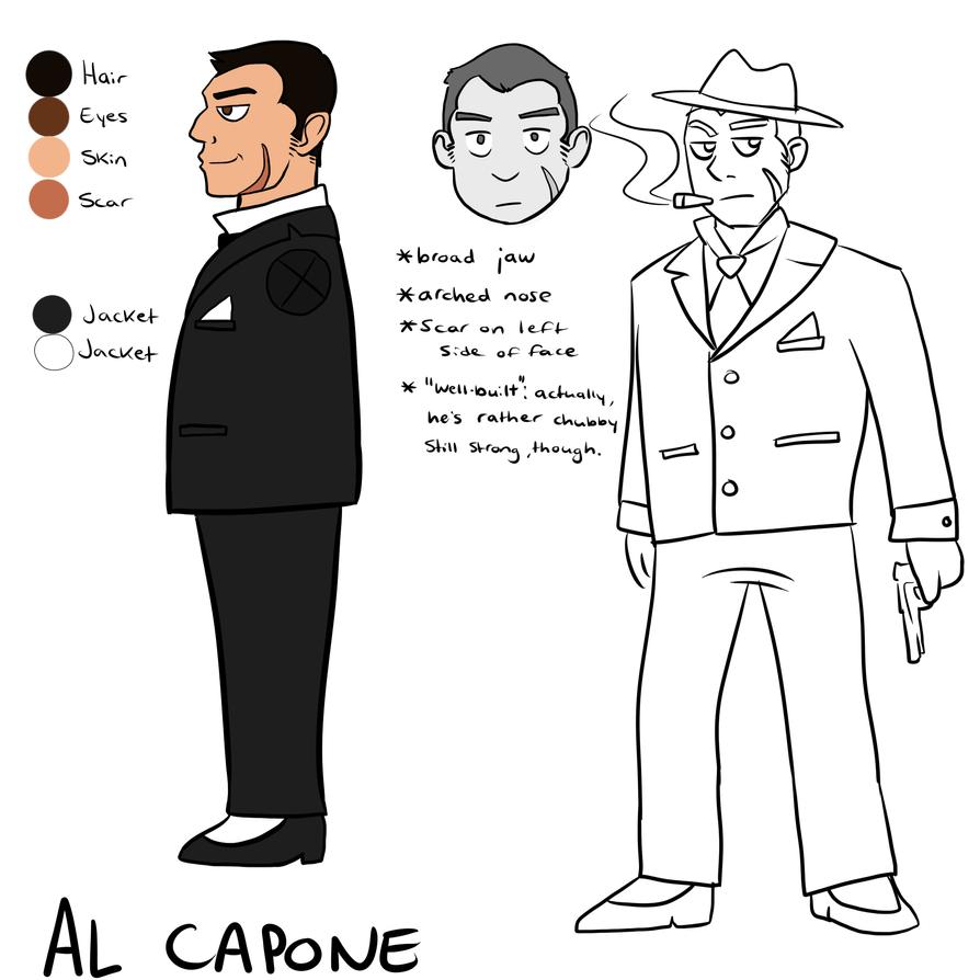 Anachronism: Al Capone ref by twistedCaliber on DeviantArt