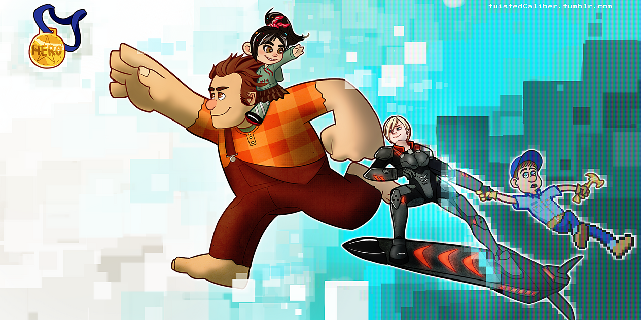 Wreck it ralph by twistedCaliber