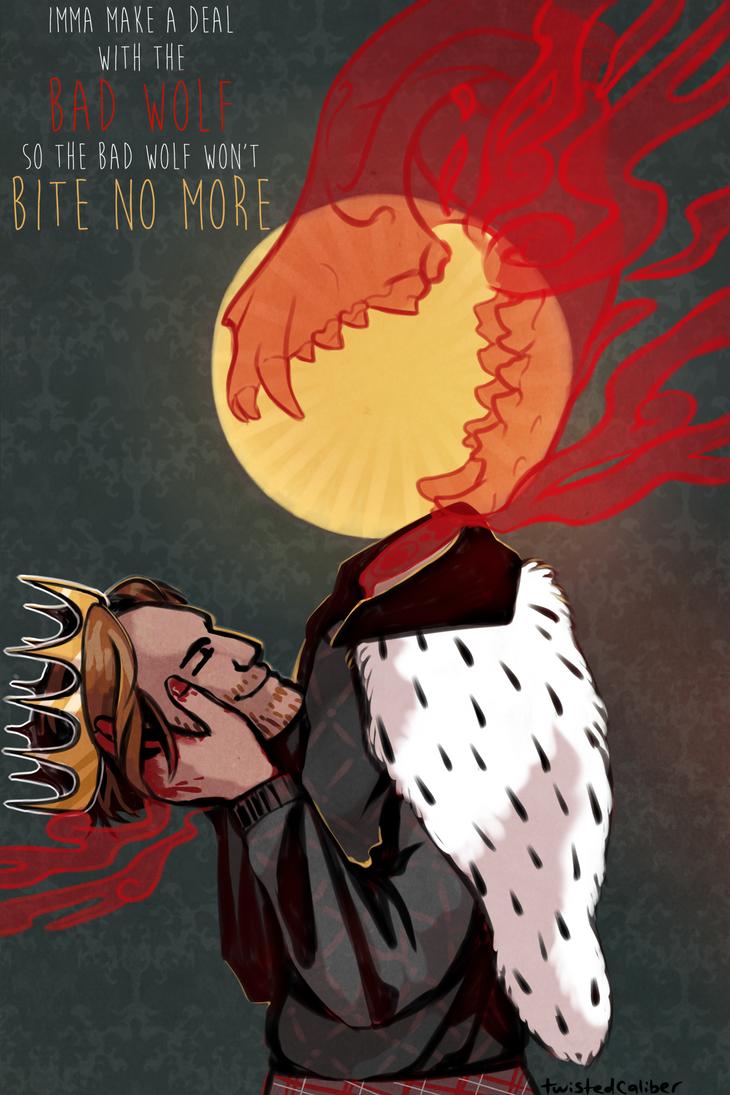 Bad Wolf by twistedCaliber