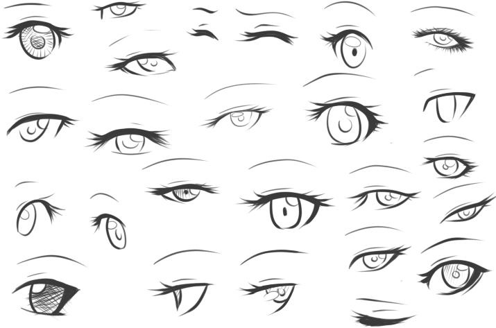 Eye Sketch By Unioxcaliber On DeviantArt