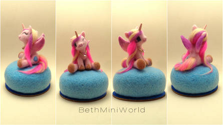Miniature Princess Cadence sculpture-Little Pony by BethMiniWorld