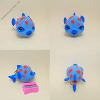 Needle felted Fish Miniature by BethMiniWorld
